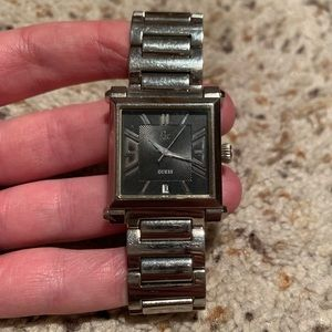 Guess Unisex Stainless Steel Watch